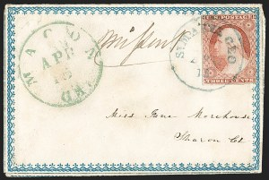 Sale Number 1191, Lot Number 2121, 1851-60 Issues3c Dull Red, Ty. II (11A), 3c Dull Red, Ty. II (11A)