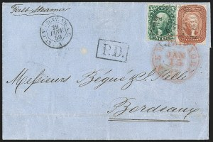 Sale Number 1191, Lot Number 2132, 1851-60 Issues5c Brick Red (27), 5c Brick Red (27)
