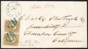 Sale Number 1191, Lot Number 2161, 5c 1861-68 Issues Specialized Collection: Buff Shades (Scott 67)5c Buff (67), 5c Buff (67)