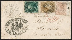 Sale Number 1191, Lot Number 2169, 5c 1861-68 Issues Specialized Collection: Buff Shades (Scott 67)5c Buff (67), 5c Buff (67)