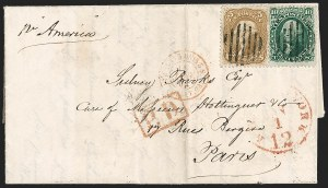 Sale Number 1191, Lot Number 2173, 5c 1861-68 Issues Specialized Collection: Buff Shades (Scott 67)5c Buff (67), 5c Buff (67)