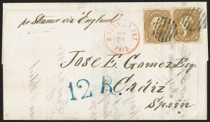 Sale Number 1191, Lot Number 2175, 5c 1861-68 Issues Specialized Collection: Buff Shades (Scott 67)5c Buff (67), 5c Buff (67)