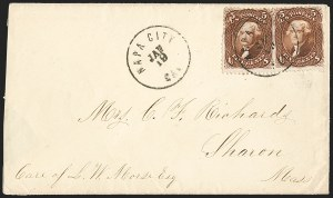 Sale Number 1191, Lot Number 2181, 5c 1861-68 Issues Specialized Collection: Red Brown Shades (Scott 75)5c Red Brown (75), 5c Red Brown (75)