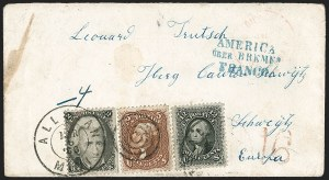 Sale Number 1191, Lot Number 2196, 5c 1861-68 Issues Specialized Collection: Red Brown Shades (Scott 75)5c Red Brown (75), 5c Red Brown (75)