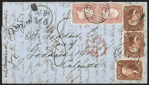 Sale Number 1191, Lot Number 2197, 5c 1861-68 Issues Specialized Collection: Red Brown Shades (Scott 75)5c Red Brown (75), 5c Red Brown (75)