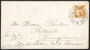 Sale Number 1191, Lot Number 2251, 1869 Pictorial Issue10c Yellow (116), 10c Yellow (116)