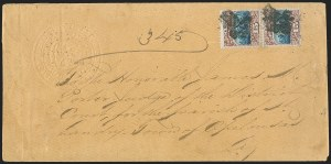 Sale Number 1191, Lot Number 2254, 1869 Pictorial Issue15c Brown & Blue, Ty. I (118), 15c Brown & Blue, Ty. I (118)
