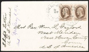 Sale Number 1191, Lot Number 2273, 10c 1870-82 Bank Note Issues Specialized Collection (Scott 150, 161)10c Brown (150), 10c Brown (150)
