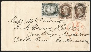 Sale Number 1191, Lot Number 2279, 10c 1870-82 Bank Note Issues Specialized Collection (Scott 150, 161)10c Brown (150), 10c Brown (150)