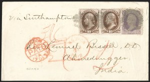 Sale Number 1191, Lot Number 2321, 10c 1870-82 Bank Note Issues Specialized Collection (Scott 150, 161), cont.10c Brown, 24c Purple (150, 153), 10c Brown, 24c Purple (150, 153)
