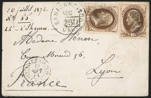 Sale Number 1191, Lot Number 2327, 10c 1870-82 Bank Note Issues Specialized Collection (Scott 150, 161), cont.10c Brown (161), 10c Brown (161)