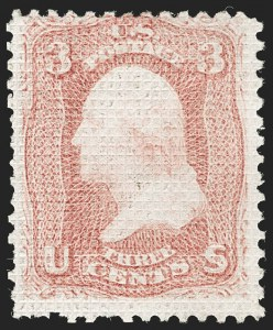 Sale Number 1192, Lot Number 173, 1867-68 Grilled Issue (Scott 79-101)3c Rose, A. Grill (79), 3c Rose, A. Grill (79)