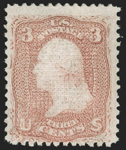 Sale Number 1192, Lot Number 175, 1867-68 Grilled Issue (Scott 79-101)3c Rose, C. Grill (83), 3c Rose, C. Grill (83)