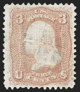 Sale Number 1192, Lot Number 178, 1867-68 Grilled Issue (Scott 79-101)3c Rose, D. Grill (85), 3c Rose, D. Grill (85)