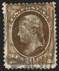 Sale Number 1192, Lot Number 276, 1879-88 American Bank Note Co. Issues (Scott 182-218)10c Brown (209), 10c Brown (209)