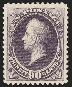 Sale Number 1192, Lot Number 286, 1879-88 American Bank Note Co. Issues (Scott 182-218)90c Purple (218), 90c Purple (218)