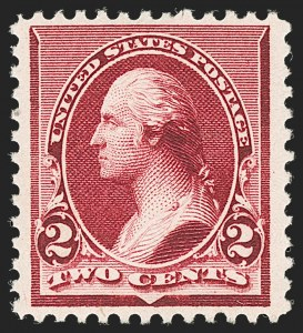 Sale Number 1192, Lot Number 289, 1890-93 Issue (Scott 219-229)2c Lake (219D), 2c Lake (219D)