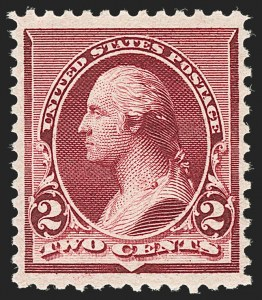 Sale Number 1192, Lot Number 290, 1890-93 Issue (Scott 219-229)2c Lake (219D), 2c Lake (219D)