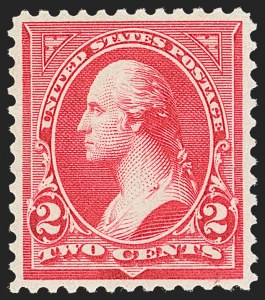 Sale Number 1192, Lot Number 332, 1894-98 Bureau Issues (Scott 246-284)2c Carmine, Ty. III (252), 2c Carmine, Ty. III (252)