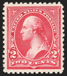 Sale Number 1192, Lot Number 333, 1894-98 Bureau Issues (Scott 246-284)2c Carmine, Ty. III (252), 2c Carmine, Ty. III (252)