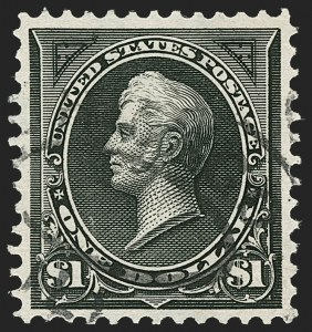Sale Number 1192, Lot Number 341, 1894-98 Bureau Issues (Scott 246-284)$1.00 Black, Ty. I (276), $1.00 Black, Ty. I (276)