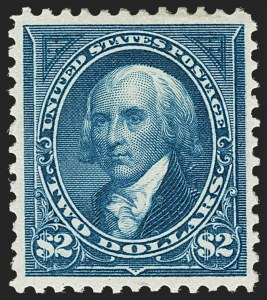 Sale Number 1192, Lot Number 342, 1894-98 Bureau Issues (Scott 246-284)$2.00 Bright Blue (277), $2.00 Bright Blue (277)