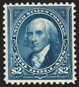 Sale Number 1192, Lot Number 343, 1894-98 Bureau Issues (Scott 246-284)$2.00 Bright Blue (277), $2.00 Bright Blue (277)