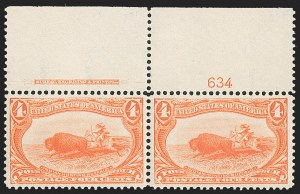Sale Number 1192, Lot Number 349, 1898 Trans-Mississippi Issue (Scott 285-293)1c-10c Trans-Mississippi (285-290), 1c-10c Trans-Mississippi (285-290)