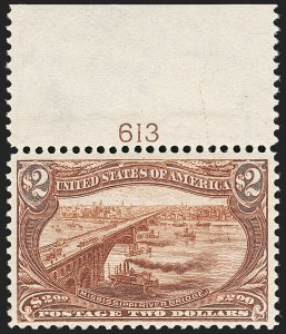 Sale Number 1192, Lot Number 364, 1898 Trans-Mississippi Issue (Scott 285-293)$2.00 Trans-Mississippi (293), $2.00 Trans-Mississippi (293)