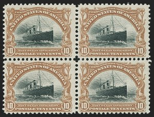 Sale Number 1192, Lot Number 370, 1901 Pan-American Issue (Scott 294-299)1c-10c Pan-American (294-299), 1c-10c Pan-American (294-299)