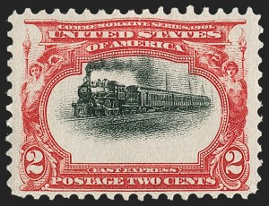 Sale Number 1192, Lot Number 373, 1901 Pan-American Issue (Scott 294-299)2c Pan-American (295), 2c Pan-American (295)
