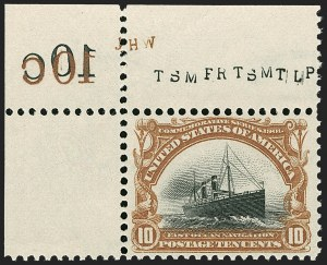 Sale Number 1192, Lot Number 378, 1901 Pan-American Issue (Scott 294-299)10c Pan-American (299), 10c Pan-American (299)