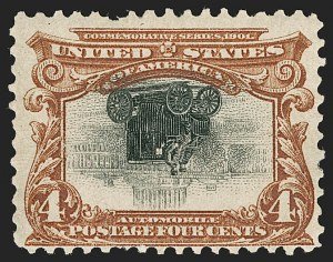 Sale Number 1192, Lot Number 388, 1901 Pan-American Issue, Inverts (Scott 294a, 295a, 296a)4c Pan-American, Center Inverted (296a), 4c Pan-American, Center Inverted (296a)