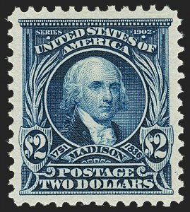Sale Number 1192, Lot Number 392, 1902-08 Issues (Scott 300-320)$2.00 Dark Blue (312), $2.00 Dark Blue (312)