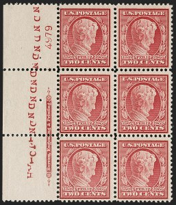 Sale Number 1192, Lot Number 451, 1909 Bluish Paper Issue (Scott 357-366)2c Lincoln, Bluish (369), 2c Lincoln, Bluish (369)