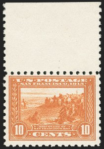 Sale Number 1192, Lot Number 476, 1913-15 Panama-Pacific Issue (Scott 397-404)10c Panama-Pacific, Perf 10 (404), 10c Panama-Pacific, Perf 10 (404)
