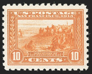 Sale Number 1192, Lot Number 477, 1913-15 Panama-Pacific Issue (Scott 397-404)10c Panama-Pacific, Perf 10 (404), 10c Panama-Pacific, Perf 10 (404)
