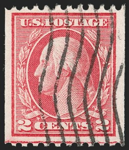 Sale Number 1192, Lot Number 507, 1913-15 Washington-Franklin Issues (Scott 424-461)2c Red, Ty. I, Coil (449), 2c Red, Ty. I, Coil (449)