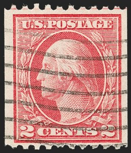 Sale Number 1192, Lot Number 508, 1913-15 Washington-Franklin Issues (Scott 424-461)2c Red, Ty. I, Coil (449), 2c Red, Ty. I, Coil (449)