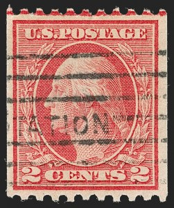 Sale Number 1192, Lot Number 509, 1913-15 Washington-Franklin Issues (Scott 424-461)2c Red, Ty. I, Coil (449), 2c Red, Ty. I, Coil (449)