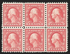 Sale Number 1192, Lot Number 531, 1916-17 Issues (Scott 462-480)5c Carmine, Rose, Error (467, 505), 5c Carmine, Rose, Error (467, 505)