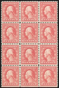 Sale Number 1192, Lot Number 532, 1916-17 Issues (Scott 462-480)5c Carmine, Error (467), 5c Carmine, Error (467)