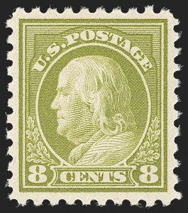 Sale Number 1192, Lot Number 533, 1916-17 Issues (Scott 462-480)8c Olive Green (470), 8c Olive Green (470)