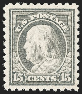 Sale Number 1192, Lot Number 535, 1916-17 Issues (Scott 462-480)15c Gray (475), 15c Gray (475)