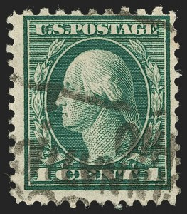 Sale Number 1192, Lot Number 547, 1917-19 Issues (Scott 481-524)1c Green, Perf 10 at Top (498g), 1c Green, Perf 10 at Top (498g)