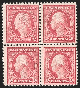 Sale Number 1192, Lot Number 552, 1917-19 Issues (Scott 481-524)2c Rose, Ty. I, Recut Hair (499 var), 2c Rose, Ty. I, Recut Hair (499 var)