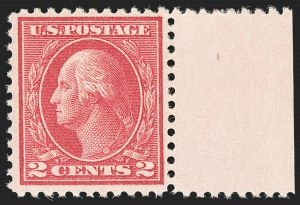 Sale Number 1192, Lot Number 553, 1917-19 Issues (Scott 481-524)2c Deep Rose, Ty. Ia (500), 2c Deep Rose, Ty. Ia (500)
