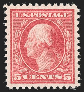 Sale Number 1192, Lot Number 566, 1917-19 Issues (Scott 481-524)5c Rose, Error (505), 5c Rose, Error (505)