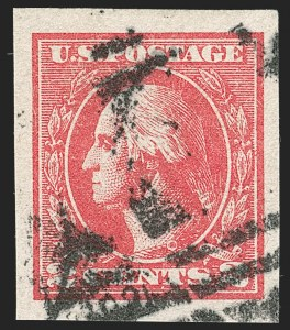 Sale Number 1192, Lot Number 594, 1918-22 Offset and Rotary Issues (Scott 525-550)2c Carmine, Ty. VII, Imperforate (534B), 2c Carmine, Ty. VII, Imperforate (534B)