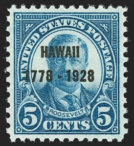 Sale Number 1192, Lot Number 630, 1925 and Later Issues5c Hawaii Ovpt. (648), 5c Hawaii Ovpt. (648)